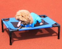 Wholesale DIY Washable Pet Bed Portable Beach Dog Bed Breathable Travel Cat Bed