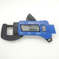 Wholesale mm Carbon Fiber Composites Digital Thickness Caliper Micrometer Gauge Width Measuring Instruments