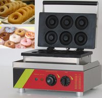 Wholesale High quality bakery equipment stainless steel electric v manual mini donut machines to make donuts