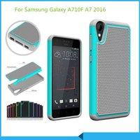 Cheap Football Skin case Armor Hybrid shockproof Cover For Samsung Galaxy A710F A7 2016 A510F A5 2016 S7 edge G9350 I8190 S3mini