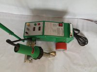 banner heat welder - 220V Banner Seam Welder Intelligent PVC PE Flex with W Leister Heat Gun