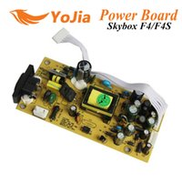 Wholesale Power Supply board SMPS for Original Skybox F4 F4S GPRS satellite receiver with VFD displayer F4 power board post order lt no
