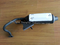 Wholesale Scooter Moped BWS BWS100 VP Muffler Exhaust System Exhaust Pipe