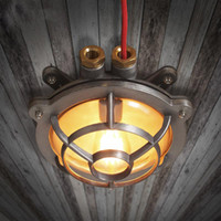 american gas - American Style Retro Restaurant Industry Explosion Waterproof LED Outdoor Shower Gas Stove Ceiling