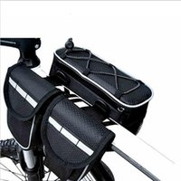 bicycle saddle bag - Cycling Bicycle Bag Bike Top Tube Saddle Bag Multifunction Sports Bag Outdoor Sport Front Bike Bag