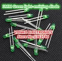 Wholesale Green LED MM Green light emitting diode Green turn Green