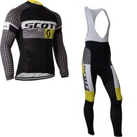 Wholesale NEW team Scott KTM winter Cycling clothing long sleeve cycling jersey ropa ciclismo hombre MTB bike jersey maillot ciclismo