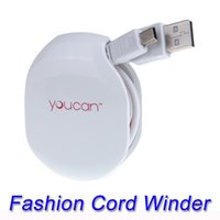automatic cord winder - Magic Automatic Cable Winder for Mobilephone Earphones Wire USB Data Cables Chargers Cords Manager