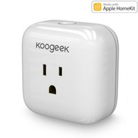 apple wi fi - Koogeek Home Smart Plug Wi Fi Enabled with Apple HomeKit Technology Support Siri Control Electronics Monitor Energy Consumption