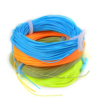 Cheap Hot New Wholesale 100FT Weight Forward Floating Fly Fishing Line WF-2F 3F 4F 5F 6F 7F 8F Fly Line