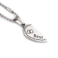 best memorials - Best Bitches Puzzle Pendant Necklaces Friendship Necklace Best Friends Forever Creative Keepsake Memorial Day Christmas Gift For Friend