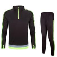 Wholesale Soccer Tracksuit Men Soccer Training Suit maillot de foot survetement Football Form Training Suits Soccer Tracksuits