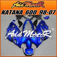 best katana - High Quality Fairings Addmotor New Design Compression Mold ABS For Suzuki Katana Blue SK616 Free Gifts Best Chioce