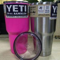 Wholesale Hot selling Rambler Tumbler oz YETI Cups Cars Beer Mug Large Capacity Mug Tumblerful