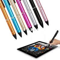 active capacitor - Metal Active Capacitive Screen Pen USB Charging mm High Precision Capacitor Stylus Screen Touch Drawing Pen for iPad Pro Gold