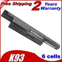 Wholesale A41 K93 A32 K93 A42 K93 Laptop Battery A93SM K93SV A95VM For ASUS A95V K93 A93S K95V A93SV K93S Series K93SM A93 K95VM