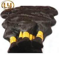 Wholesale 50g Bundle Irina Unprocessed Body Wave Brazilian Bulk Hair Rosa Hair For Natural Black Color No Tangle Beautiful Star