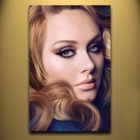 adele single - Hand painted Hi Q modern wall art home decorative abstract oil painting on canvas ADELE x36inch Unframed