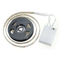 battery powered led light strips - Waterproof RGB SMD LED Strip Flexible Lights Lamp Battery Power with Mini Controller CM