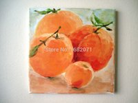 abstract fruit paintings - Beautiful Designed Good Quality Impression Fruit Orange Oil Painting On Canvas Impression Still life Fruit Oil Paintings