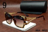Wholesale AAA Ca zal Sunglasses For Men Vintage Polarized Sun Glasses Women Famous Brand Uv400 Prevent Gold Frame Eyewear With Original Box