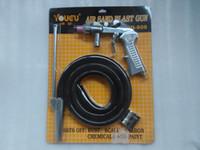 Wholesale Air Sandblasting Gun Kit Spray Gun Kit with Extra Nozzles Free Ship