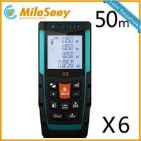 Wholesale Mileseey X6 m m m laser meter distance laser meetgereedschap measuring laser rangefinder medidor laser Blue