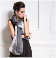 Wholesale Silk scarves with mix colour scarf fashion style high quality shawl sea pashmina CM popular pattern printed