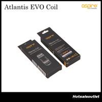 Remplacement du réservoir Aspire Atlantis EVO Bobines 0,4 ohm 0,5 ohm Kanthal Clapton Bobines pour Atlantis EVO réservoir 100% Original