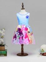 american pony - 2016 New Arrive Fashion Children Clothing Girl Dresses My Little Pony Sleeveless Princess Birthday Party Dress