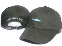 Precio de Buena pesca-2016 marca Golf GOOD WORTH CO. Hombres hombres Gorras Snapback sombreros 6 paneles Gorras Casquette strapback Deportes al aire libre
