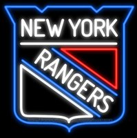 beer new york - New York Rangers Neon Sign Handcrafted Custom Real Glass Tuble Beer Bar KTV Disco Motel Club Pub Beer Display Advertising Sign quot x24 quot