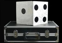 big production free - Large Dice Production Case Magic Tricks Stage Magic Accessary magic props magic product Big Dices from Case