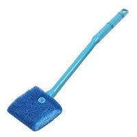 aquarium sponges - Sponge Aquarium Fish Tank Glass Cleaning Brush Scrubber Cleaner Blue Green Non Slip Griped Handle Improving Cleaning Action