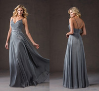 big just - Gary Chiffon Wedding Dresses V Neckline Criss Cross Back Sexy Big Discount Just For You Prom Dresses