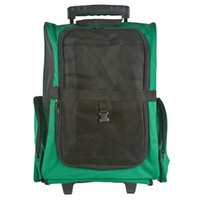 airline backpacks - Green Pet Carrier Airline Dog Backpack Rolling Tote Extending Handle