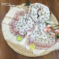 arab style scarves - New Women Paisley Scarf Vintage Style Scarves Vintage Bohemia Shawl Wrap Lady Printed Foulard Muslim Wrap Arab Hijabs Muffler FS1371