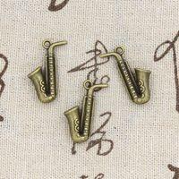 antique horns - 60pcs Charms horn mm Antique Making pendant fit Vintage Tibetan Bronze DIY bracelet necklace