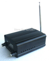 audio frequency converter - 1 set W W FM Stereo broadcast radio FM transmitter station audio converter built in PLL frequency Small antenna car