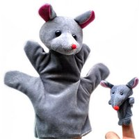 babies parenting - New Arrival Baby favourite cartoon animal Hand Puppet Parenting Interactive plush toys