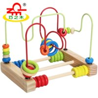 Wholesale Baby Toys Classic Toy Wooden Bead Maze Child Beads Educational Toys High Quality Toys Paradise Child Birthday Gift