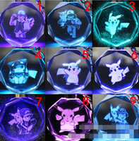 Cheap 117 Style Fashion Poke Go Elf Ball Crystal Key Rings Children Adult Cartoon Cell Phone Charm Pendant Keychain Min Order 12 pcs Free Shipping