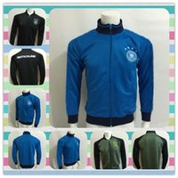 active products - New Product European cup Germany Black Blue Grey Jackets clothes out tracksuit coat Football Shirt Training Suit soccer Jacket Jersey