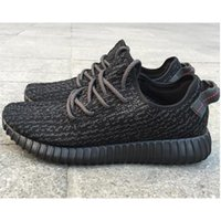 Cheap Professional Pirate Black Yeezy 350 Boots Running Shoes Fashion Women and Men Yeezy 350 Boots cheap Outdoor Sports Running Breathable S