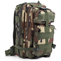 Wholesale Men Women Outdoor Military Army Tactical Backpack Trekking Sport Travel Rucksacks Camping Hiking Trekking Camouflage Bag
