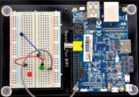 DIY Монтажная пластина для Banana Pi Прозрачный Arcylic Монтажная панель Крепление вспышки крепление номерного знака