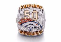 Wholesale 2015 Denver Broncos Super Bowl Championship Rings NEW ARRIVAL