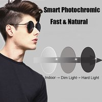 Wholesale Coating Photochromic Lenses High Index Single Vision Aspheric Prescription Lens Anti Radiation UV Color Change Quickly