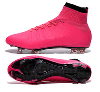 no name shoes - New X SUPERFLY IV pink Men s soccer cleats customize name and No football boots soccer shoes