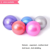 Wholesale Anti Explosion Massage Yoga Ball Fitness Exercise Health Sports Gym Ball x75cm